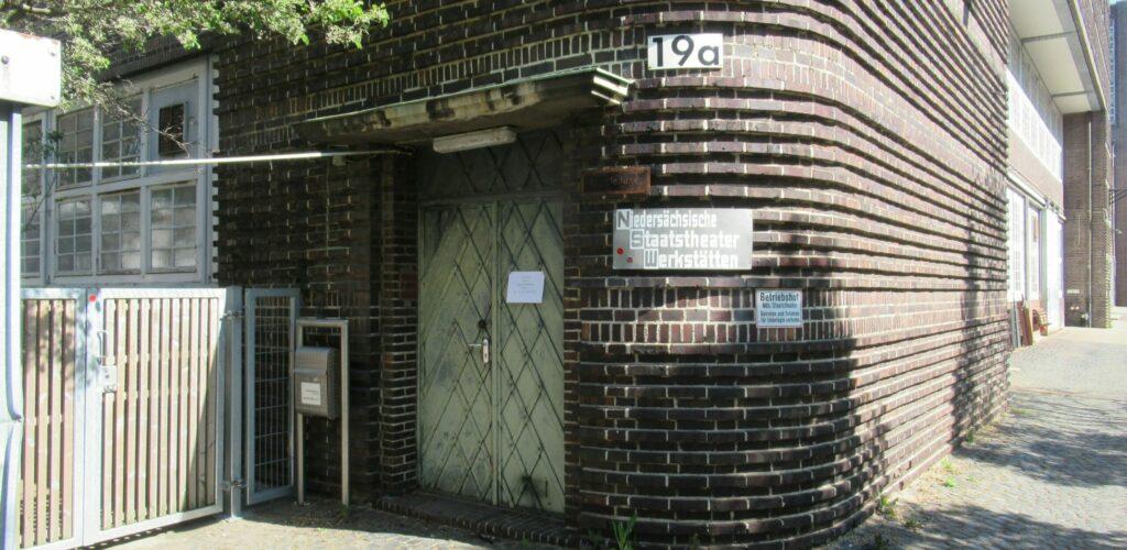 Werkstätten des Niedersächsischen Staatstheaters, Maschstraße Hannover